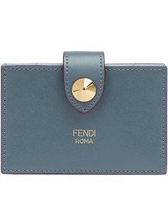визитница на кнопке Fendi