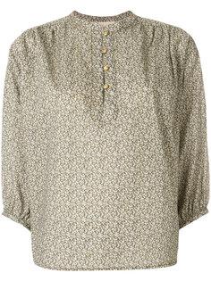 рубашка с воротником-мандарин и принтом Vanessa Bruno
