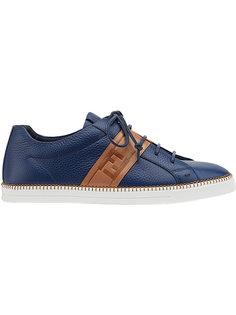 кроссовки на шнуровке  Fendi