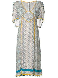 платье с принтом Maghreb Talitha