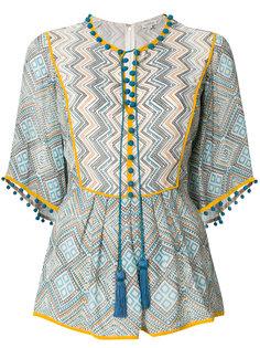 блузка с принтом Maghreb Talitha
