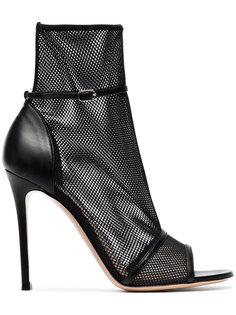 сетчатые ботинки Idol 105 с открытым мыском Gianvito Rossi