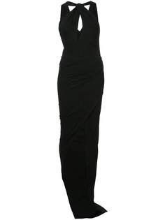 keyhole front fitted dress Alexandre Vauthier