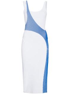 эластичное платье миди Varsity Esteban Cortazar