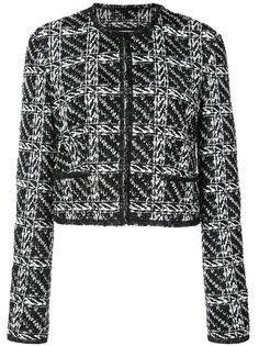 куртка-кардиган с вышивкой Thom Browne