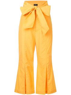 укороченные брюки с широким поясом G.V.G.V.