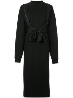 платье-толстовка с поясом G.V.G.V.