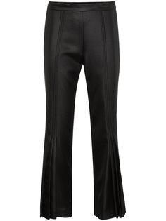 укороченные расклешенные брюки Marco De Vincenzo