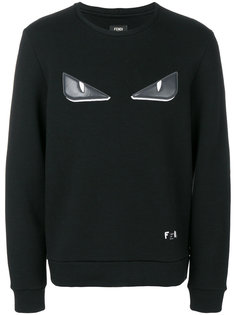 Bag Bugs-appliqué sweatshirt Fendi
