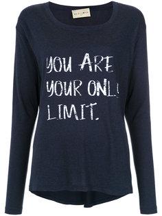 printed long sleeves blouse Andrea Bogosian