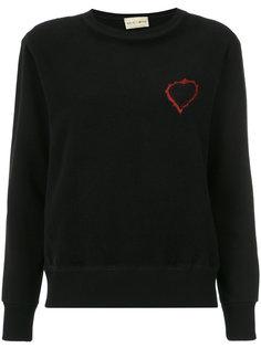 embroidered sweatshirt Andrea Bogosian