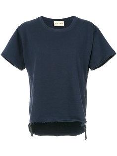 printed asymmetric T-shirt Andrea Bogosian