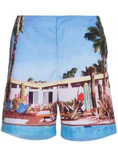 шорты для плавания Bulldog Pool House Orlebar Brown