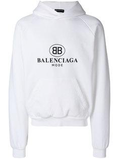 толстовка с капюшоном BB Mode Balenciaga