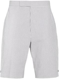 шорты в полоску Thom Browne