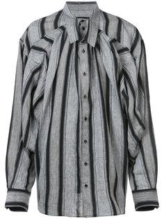двухслойная полосатая рубашка Y / Project