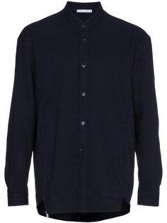 pleated back long sleeve shirt Lot78