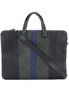 плетеная сумка для ноутбука Bottega Veneta