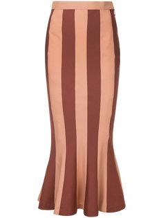 юбка в полоску с высокой талией G.V.G.V.