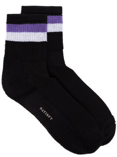 полосатые носки Punk Reverse Satisfy