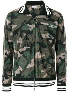 сетчатая спортивная куртка с камуфляжным узором Valentino
