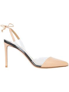 туфли с завязками на пятке Francesco Russo