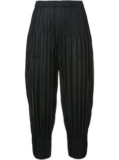 объемные укороченные плиссированные брюки Pleats Please By Issey Miyake