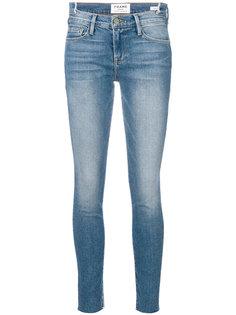 """джинсы узкого кроя с эффектом """"варенки"""" Frame Denim"""