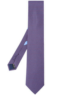 галстук с мелким узором Salvatore Ferragamo