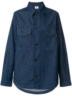 джинсовая куртка рубашечного кроя Ps By Paul Smith