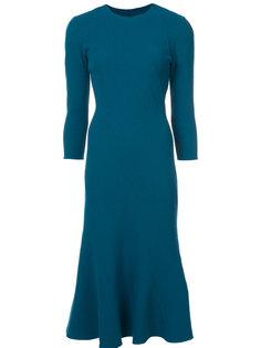 приталенное платье-тюльпан  Oscar de la Renta