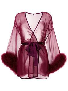 прозрачный ночной халат Gilda & Pearl