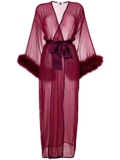 удлиненный прозрачный ночной халат Gilda & Pearl