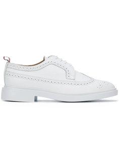 туфли оксфорды на шнуровке  Thom Browne