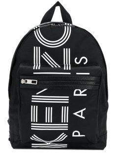 рюкзак с принтом-логотипом Kenzo