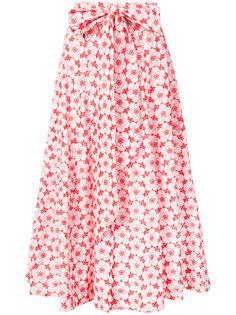floral beach skirt Lisa Marie Fernandez