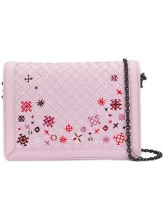 сумка через плечо с вышивкой Montebello Bottega Veneta