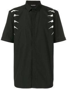 рубашка с короткими рукавами с молниями Neil Barrett