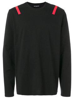 свитер с контрастными полосами Neil Barrett
