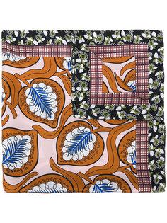 шарф с растительным принтом  Marni
