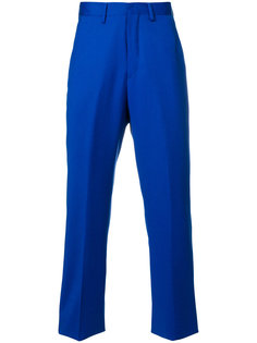 прямые брюки с логотипом Kappa