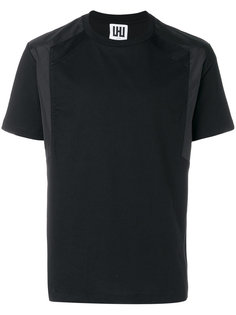 contrast-panel T-shirt Les Hommes Urban