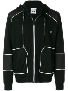 panelled zip hoodie Les Hommes Urban