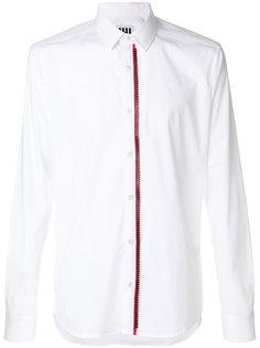 рубашка с застежкой на молнию Les Hommes Urban
