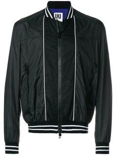 куртка-бомбер с сетчатыми панелями Les Hommes Urban