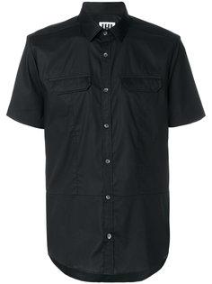 рубашка с сетчатой отделкой Les Hommes Urban