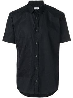 рубашка с сетчатым карманом Les Hommes Urban