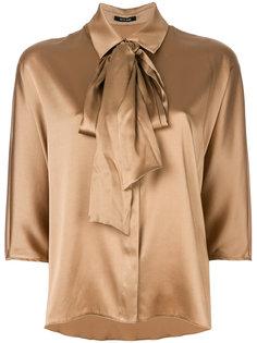 блузка с завязкой на вороте  Styland