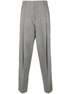 зауженные брюки в ломаную клетку McQ Alexander McQueen