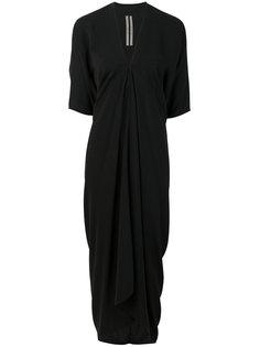 платье с запахом Rick Owens
